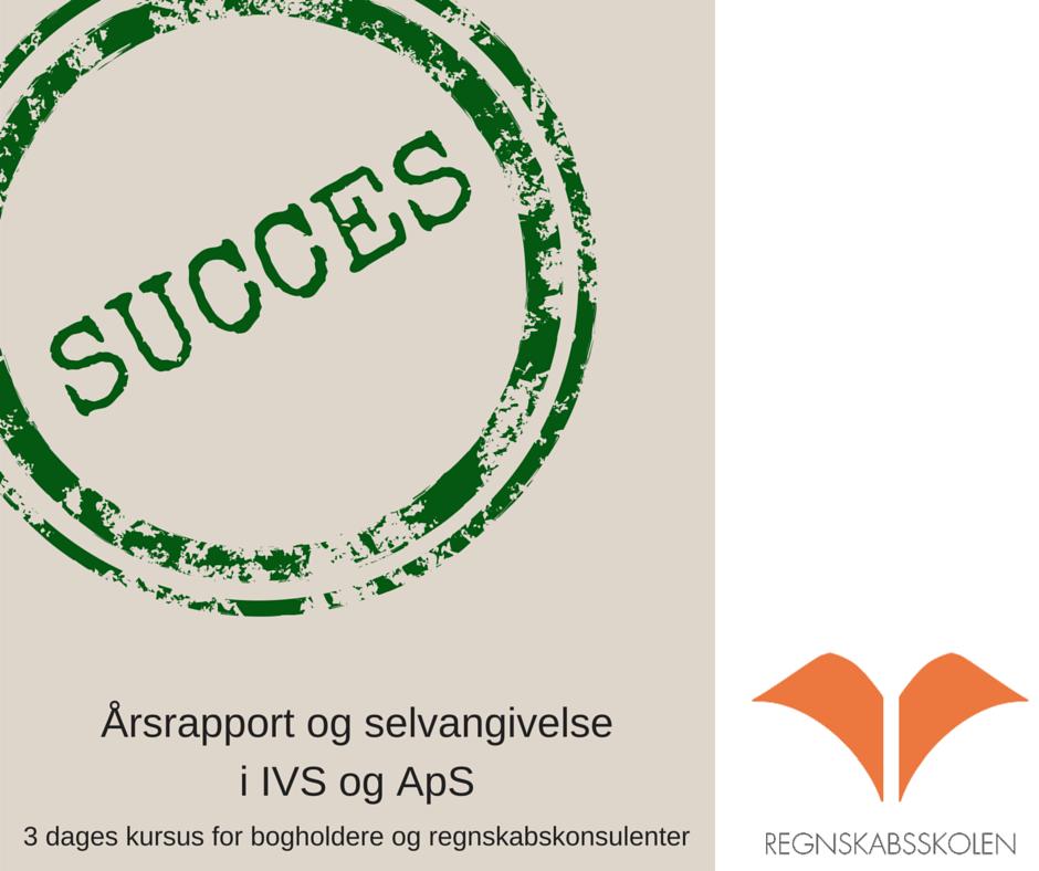 Årsrapporter og selvangivelse i IVS og ApS